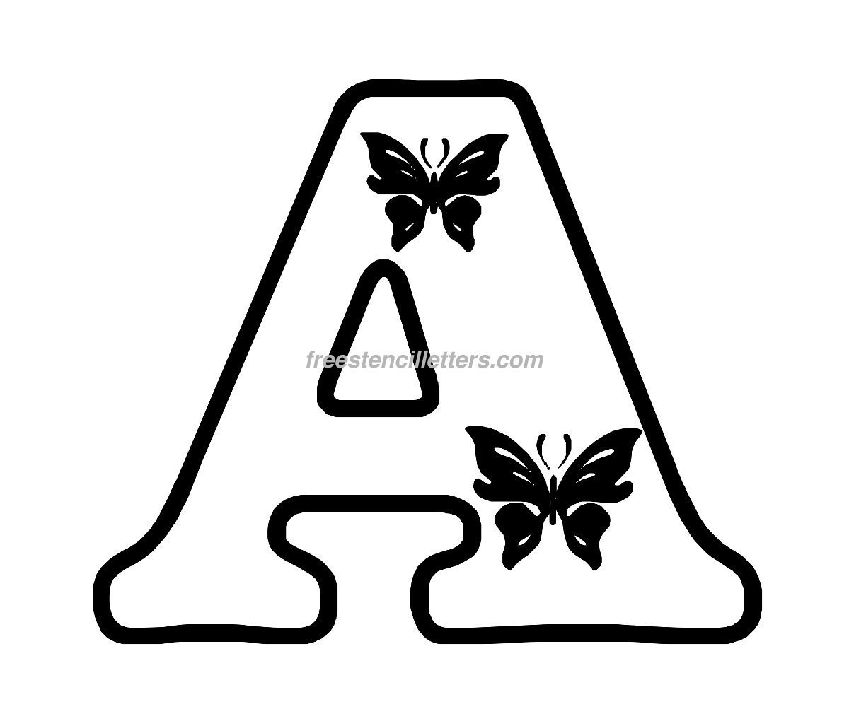 It is a picture of Bewitching Free Printable Stencils to Cut Out