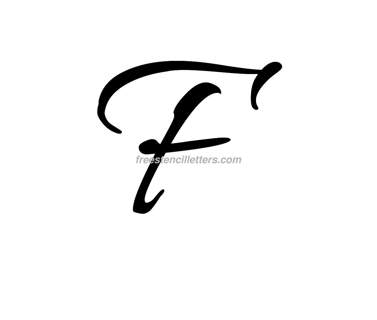 Worksheet Cursive F the letter f in script abnt script