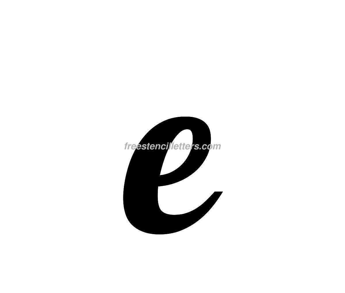 small-e  Inch Letter T Stencil Template on templates upper lowercase, wide block, designs printable, free printable alphabet, free printable, printable upper lower case together,