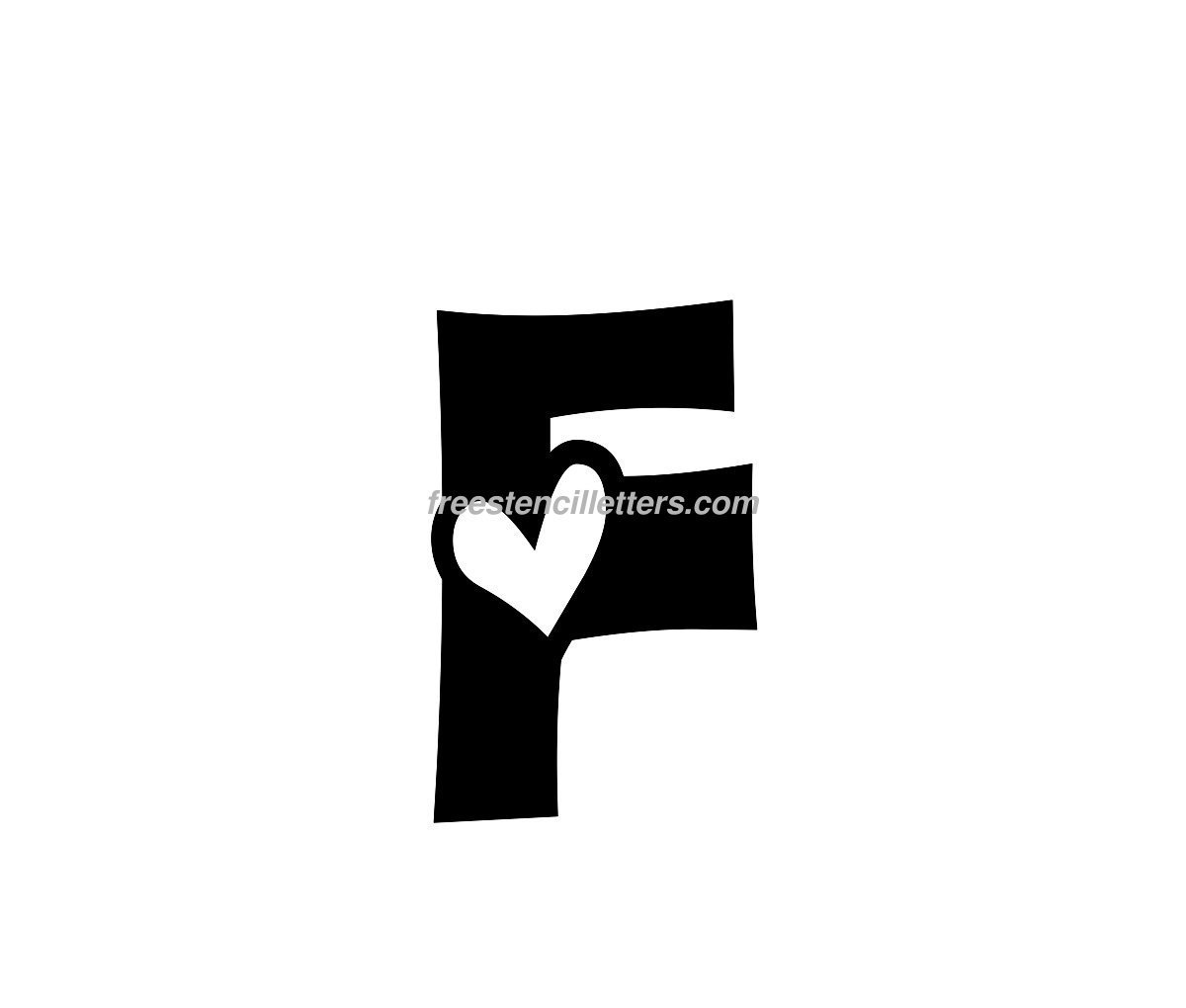 stencil-f  Inch Letter H Templates on printable bubble, large alphabet, extra large, is for hippo, bold uppercase,