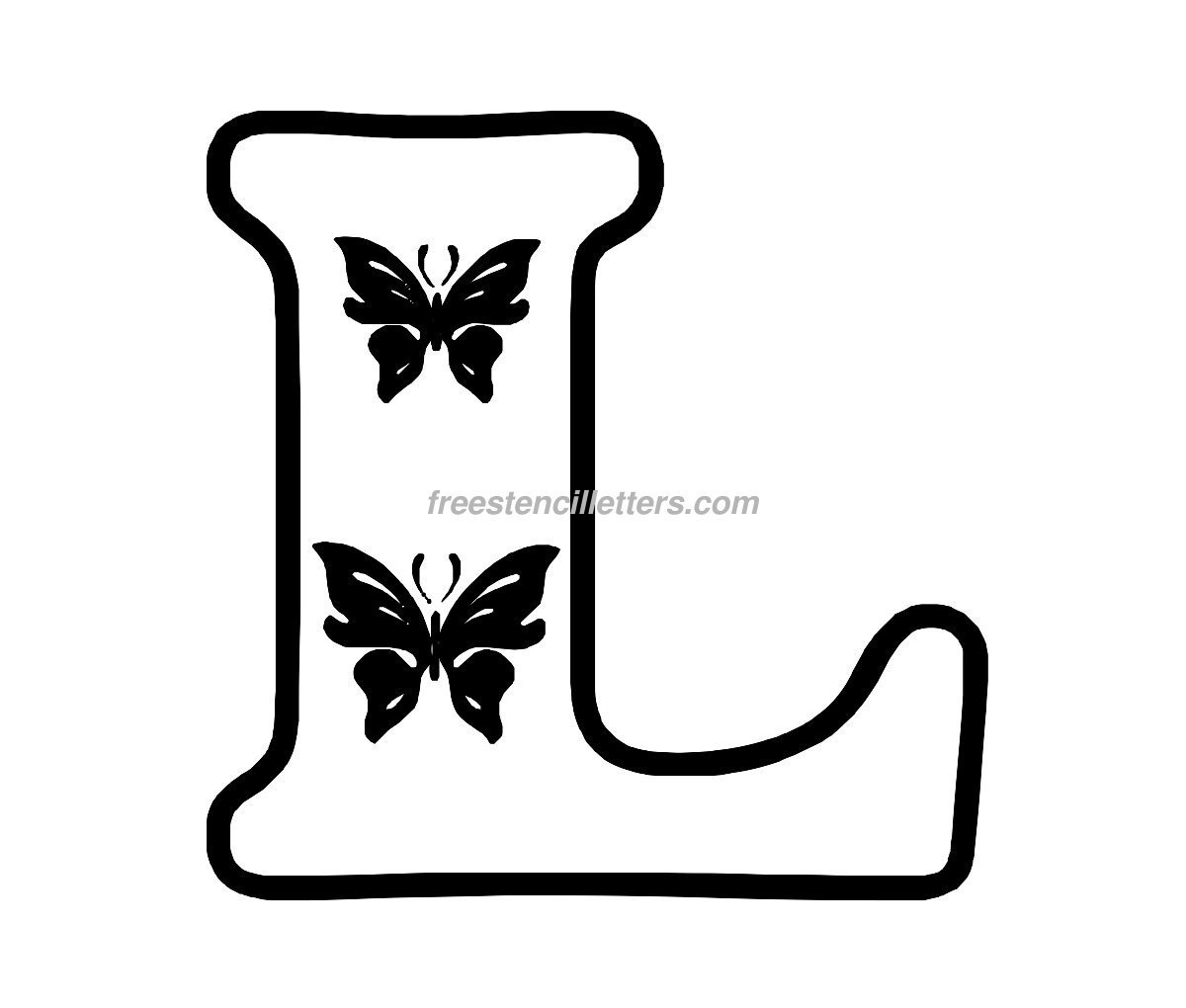 Worksheets Large Letters To Print And Cut Out 8 best images of free printable cut out letters print c letter stencil l stencil
