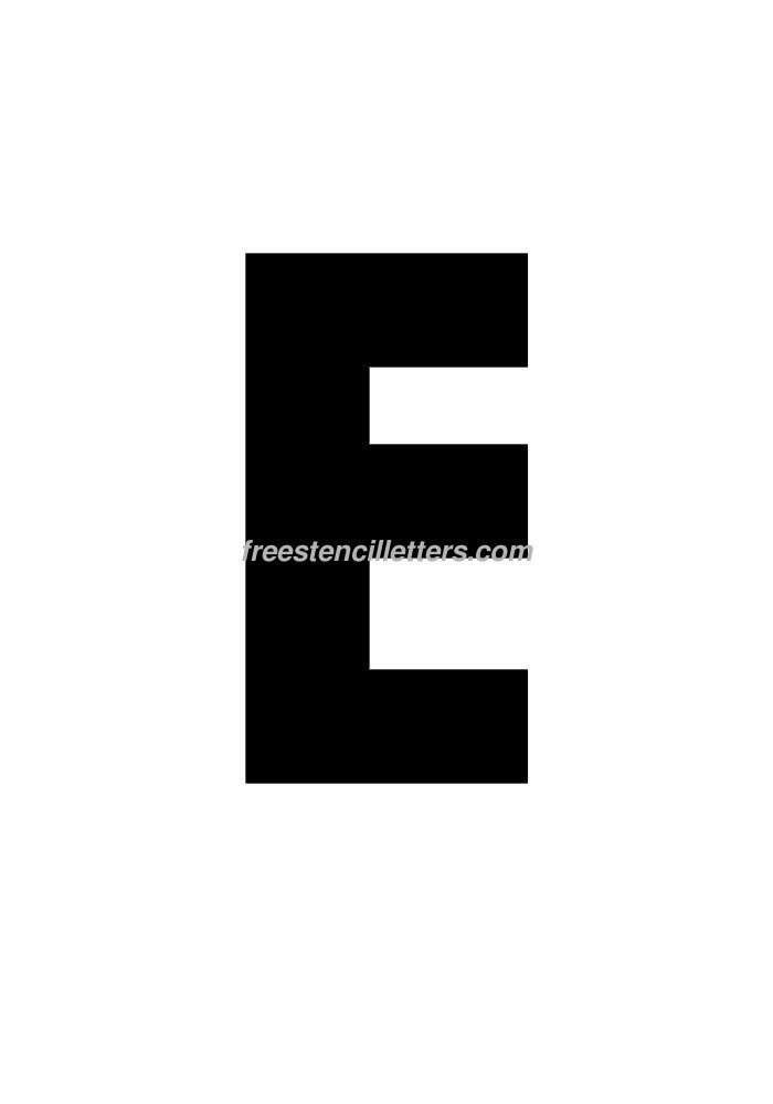 8 Inch Printable Block Letters Related Keywords - 8 Inch ...