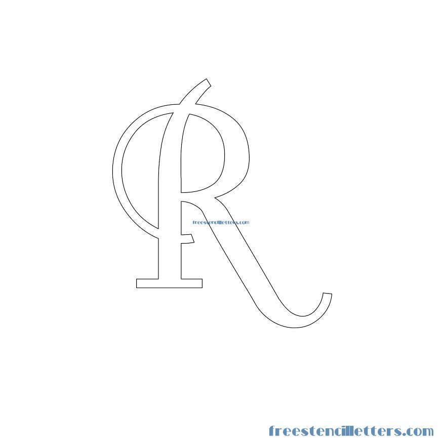 This is a graphic of Free Printable Stencils Letters throughout template